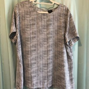 Worthington || Tee Blouse || XXL